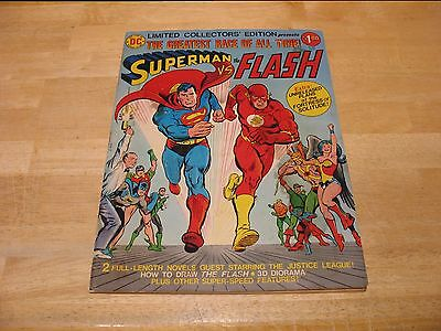 1976 DC Comics Limited Collector's Edition Superman vs The Flash