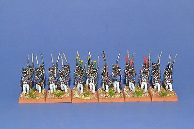 15mm Napoleonic Painted French Late Fusilier Battalion Fr15-17