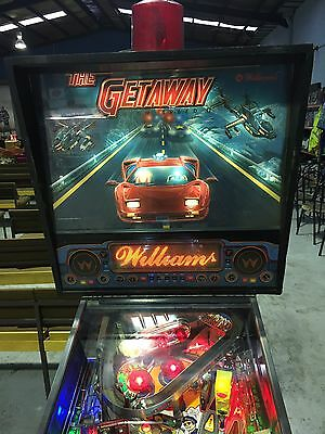 The Getaway High Speed II Pinball Machine With LED's Williams