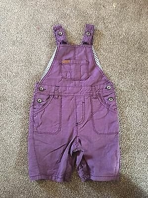 Baby TED Baker Purple Boy Dungarees 12-18