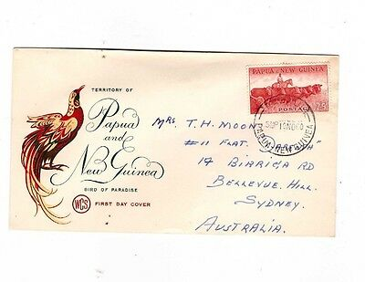 Papua & New Guinea 1960 2/5 Cattle on WCS Cover, cds RABAUL