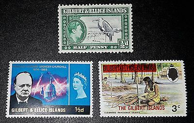 GILBERT & ELLICE ISLANDS Mixed Selected Stamps (No1272)