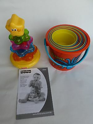 """Fisher Price """"Star Tunes"""" and Colourful Stacking Buckets"""