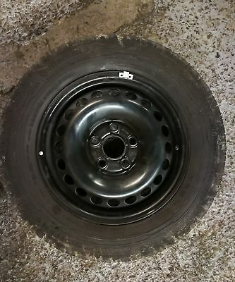 "(b) VW TRANSPORTER T5 16"" STEEL SPARE WHEEL AND 215 65 16  NEW TYRE"