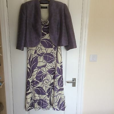 Jacques Vert Dress And Jacket Size 12