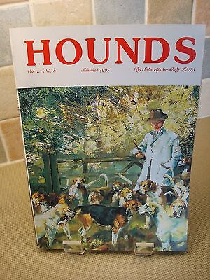 Hounds Magazine - Lionel Edwards - Snaffles - Michael Lyne - Hunting