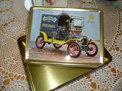Collectable Macs biscuit tin
