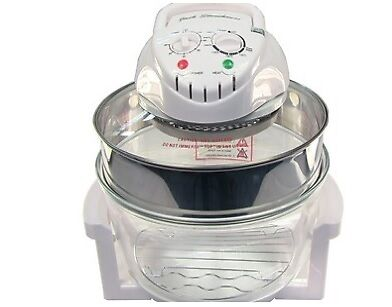 Jack Stonehouse 12 Litre Halogen Oven Convection Cooker in WHITE