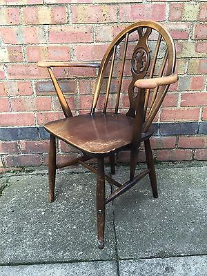 Retro Ercol Prince Charles Carver Chair