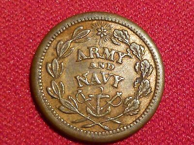 1860s Civil War Army and Navy token 220/322a