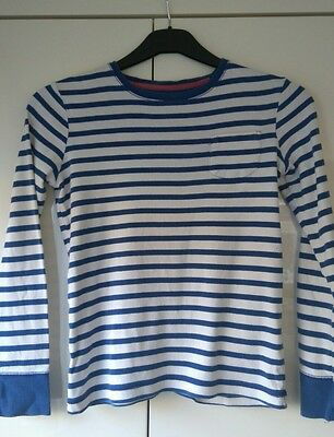 Mini Boden Long Sleeved Striped Top - age 11-12 years