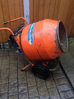 belle minimix 150 New Gearbox Fitted Cement Mixer 230v