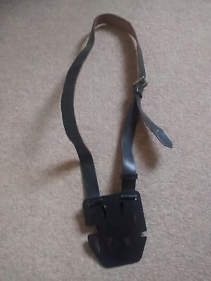 Bus ticket machine harness and back plate