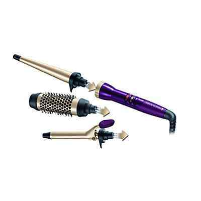 Remington Your Style Bar Starter Kit (Hot Brush 19 mm Tong and Conical Wand)