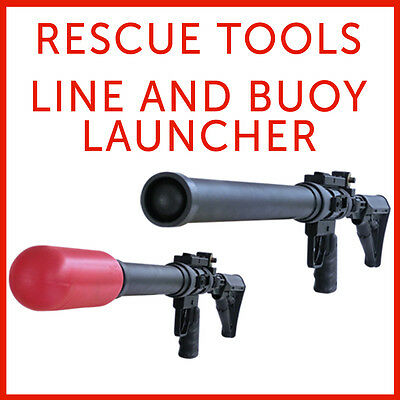 Rope Line Launcher - Lifeguard Rescue Water Floating Buoy Launcher - Life Saving