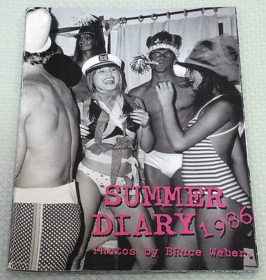 SUMMER DIARY 1986 by BRUCE WEBER Supplement to the fashion magazine PER LUI