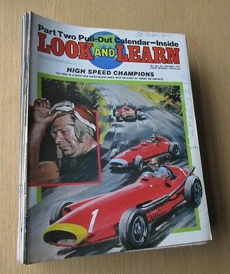 Look And Learn  Magazine Collection ( 52 - Issues ) 1979 .