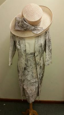 John Charles Mother of the Bride 25549 Size 18 Coat and Dress BRAND NEW £1000