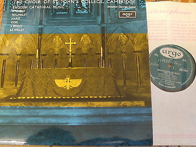 ZRG 5406 English Cathedral Music 1770-1860 / Guest / St. John's GROOVED OVAL