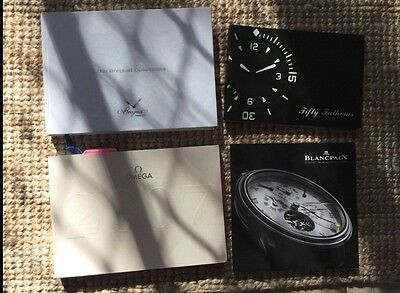 Omega Breguet Blancpain watch Catalogues