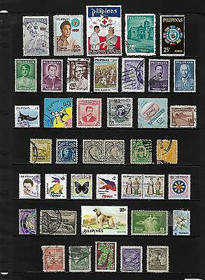 PHILIPPINES stamp selection.(ref.577)
