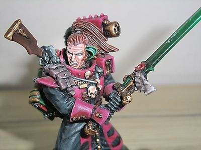 Warhammer 40k Inquisitor 54mm Covenant - Metal Well Painted