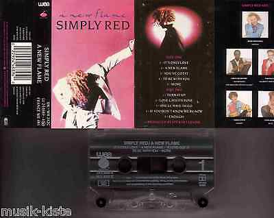 SIMPLY RED - A New Flame ★ MC Musikkassette Cassette