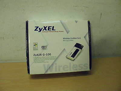 ZYXEL ZYAIR G-100 Unleash Networking Power.Completo con Caja,Drivers.Portatiles