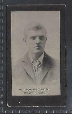 Smith - Footballers (Brown Back) - #4 J Robertson, Glasgow Rangers