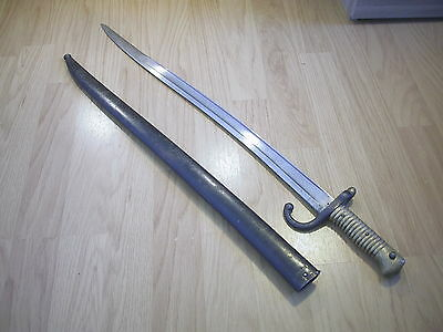 M1866 Chassepot Sword Bayo Dated 1868 Matching Numbers