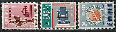 1966 South Vietnam stamps, full set MH, SC 298-300