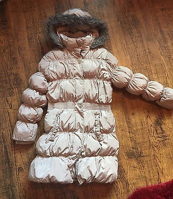 Next Girls Padded Coat In Age 11/12 Years.. Nice!