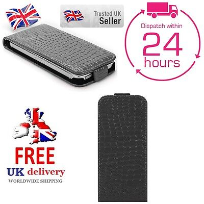 Luxury Crocodile PU Leather Wallet Flip Case Cover For Samsung Models