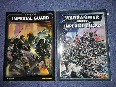 Games Workshop Warhammer 40k Imperial Guard Codex Bundle