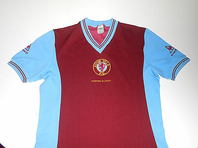 Aston villa shirt 1982 Champions of Europe Le Coq Sportif England jersey 80's