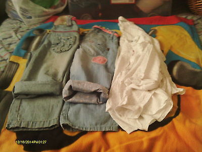 girls bundle 2 jean and 3 shirts 4-5 years