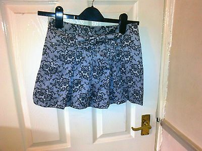 lace print effect skirt age 10