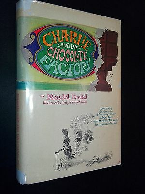 Charlie and the Chocolate Factory - Roald Dahl - 1964 - 1st ed / 2nd printing VG