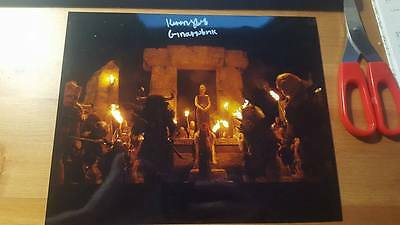 Signed Kiran Shah Photo Charity Narnia Harry Potter Dr Who Game Of Thrones