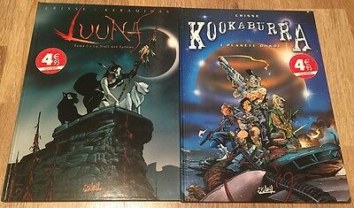 lot 2 bd (LUUNA vol1 et KOOKABURRA vol1)