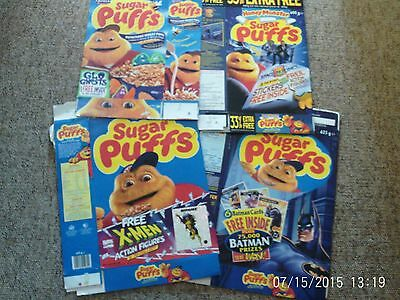 Sugar Puffs Cereal Boxes.x4.