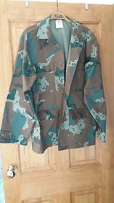 Sadnf South African Soldier 2000 Camo  Field Jacket / Shirt Xl