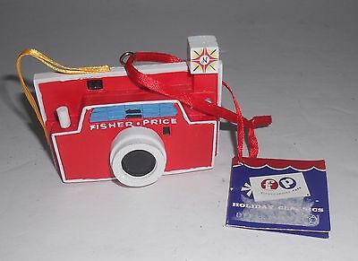 Dept 56 FP Fisher Price Flash Camera Christmas Tree Ornament NWT