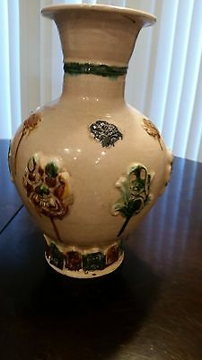 Chinese Very Old Pottery 12 inch Vase
