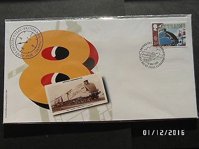 GB STAMPS FDC - TRANSPORT SET OF 4 POSTCARDS - 1988 - USED in PACKET - 99p START