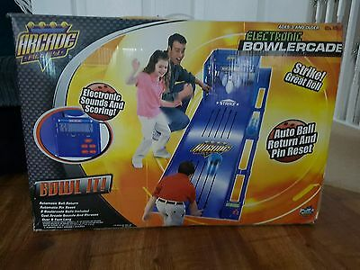 electronic bowlercade arcade alley kids indoor bowling