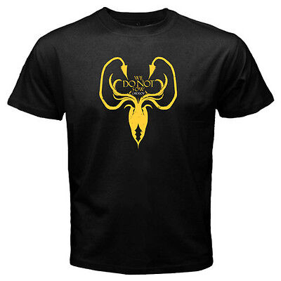 Game of Thrones House of Greyjoy Mens Black T-Shirt
