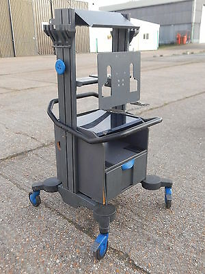 Knurr Technical specialized diagnostic equipment computer trolley mobile stand