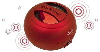 DEFENDER 1.0 Act speaker system Soundway red portable 2W