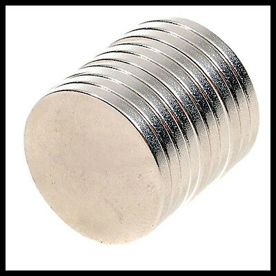 10pcs x 12mm x 1mm Super Strong Round Disk Rare-Earth Neodymium Magnets Magnet